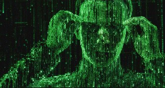 neo from the matrix showing hackers and how to deal with ransomware