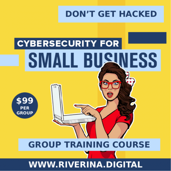 Cybersecurity for small business group training course